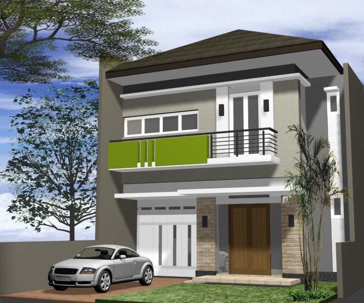 Rumah Minimalis 2 Lantai Luas 100 M  bagaimana cara bank menilai harga rumah bagian 2